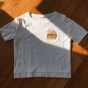 Zara T shirt 🍔